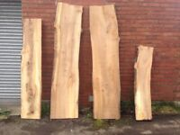 Wood elm plank / board