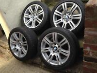 BMW M-SPORT ALLOYS & TYRES