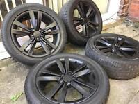 """17"""" ALLOY WHEELS SEAT LEON FR, AUDI TT MK1, A1, S1, VW GOLF MK4, BEETLE, BORA"""