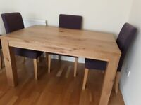 Excellent quality Barker and Stonehouse Dining Table. 90cm x 140cm