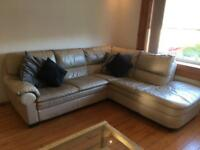 Corner sofa and chair GONE PENDING PICK UP