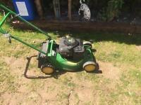 John Deere self-propelled lawnmower