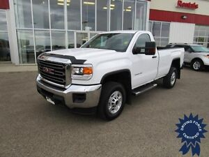 2015 GMC Sierra 2500HD WT Regular Cab 4X4 Long Box 8'