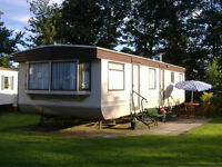 LOOK Beautiful Large 2 Bedroomed Static Caravan Cresswell Towers Morpeth Northumberland Near Beach