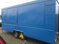 Wilkinson Catering Trailer Double Hatch Twin Axle Business for Sale