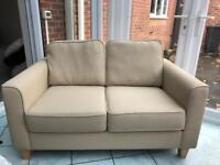 John Lewis 2 seater sofa in cream