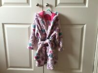 M&S Hello Kitty Dressing Gown (Age 2-3 years)