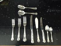 Cutlery set 8 place sitting (Lockhart) stainless steel