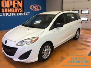 2014 Mazda Mazda5 3RD ROW SEATING! LOW, LOW KM'S! FINANCE NOW!