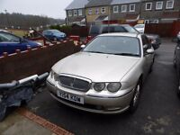 2001 rover 75 club CDTSE 2 Ltr BMW Diesel Engine Excellent runner NO MOT selling for spares,