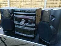 Sony rx 70 3 CD midi hi-fi component system in vg condition.