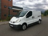 2007 2.0 Nissan Primastar van 116k miles done like vivaro and trafic