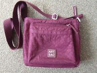 ARTSAC Cerise Handbag W23 x H20 x D19 cms
