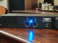 kam kba10 power amplifier 2x 180watts @4ohm