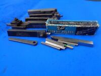 Lathe Tool Holder and Bits