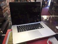 Apple Macbook Pro i7 2.6Ghz CPU 4GB RAM 500GB HDD Intel HD Radeon 512MB Graphics MacOSX