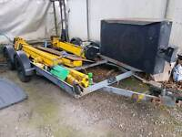 4 wheel car trailer for sale ( really low )