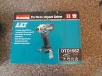 Makita impact driver DTD156Z