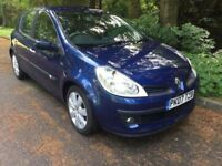 2007 RENAULT CLIO 1.5 d.c.i DIESEL # £30 A YEAR ROAD TAX # GENUINE 41.000 MILES #