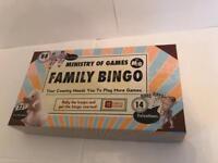 Family Bingo Game