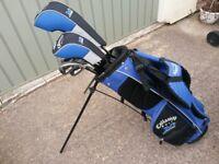 Right Handed Callaway Drivers / Titleist 714 ap1 junior irons golf set