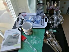 A variety of kitchenware