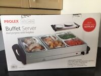 New Hotplate buffet server 4 units
