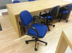 Office computer swivel chair - Blue
