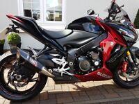 Immaculate Suzuki GSX-S1000 Candy Red & Black