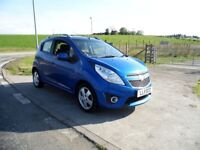 CHEVROLET SPARK 1.2 LT 5d 80 BHP 6 Month RAC Parts & Labour Warranty