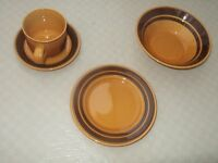 1960's Staffordshire Potteries 8 piece Breakfast set for 2 Unused in original packaging