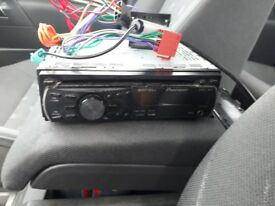 Pioneer MHZ stereo, with couplings