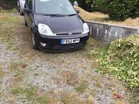 Ford Fiesta GHIA 2002 Black 5dr car for sale Spares/Repairs