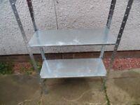 steel 5ft shelf racking 4 tier 10 quid