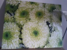 Lovely x3 piece Canvas picture
