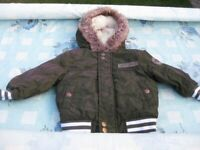9 to 12 month boys coat