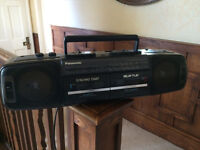 Radio and twin tape deck