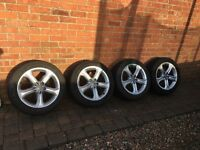 "17"" genuine Audi alloys"
