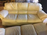Free couch cream leather