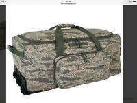 Military ABU Monster Bag Rolling Duffle