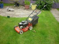 mountfield petrol lawn mower in good condition just needs pull cord replacing hence price
