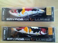 Savage Gear pike fishing lures