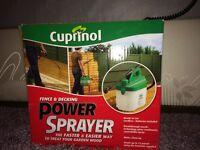 Brand New Cuprinol Power Sprayer / Dormeo Memory Foam Contoured Pillows x2 and Light shade