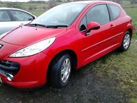 PEUGEOT 207, M, PL;AY SPORT , M,O,T,'D TODAY , 112K, DRIVES' SUPERB ,