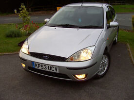 Ford Focus 1.8 Petrol LX 2003 (53) New full MOT till July 2018 & New Cambelt fitted & fully valeted