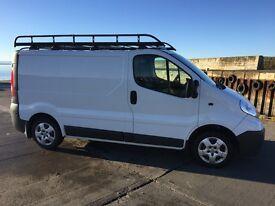 Vauxhall Vivaro Van, 2011, White, 52000 miles, full years MOT, one owner, NO VAT!