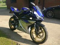 2012 Yamaha YZF-R125 Blue, Excellent Condition