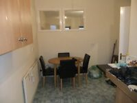Maisonette flat in main st Brynmawr . 1 bedroom,modern kitchen ,gas C/H well decorated throughout,