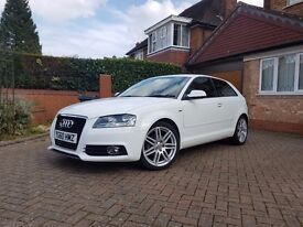 Audi A3 S line - £30 tax! FSH start/stop 1 lady owner