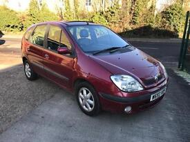 Renault scenic 1.6 automatic low miles NOW SOLD!!!